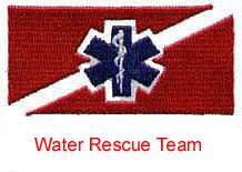 Water Rescue Team Patch